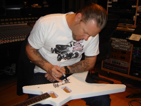JAMES HETFIELD HOUSE 2009